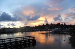 Hoq River Sunset 2